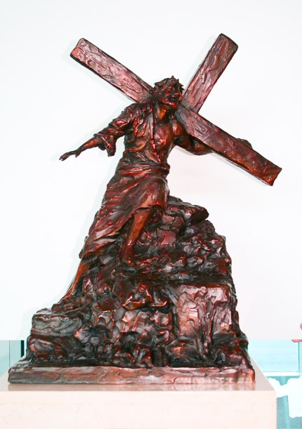 IX - Jesus Falls the Third Time - View 1