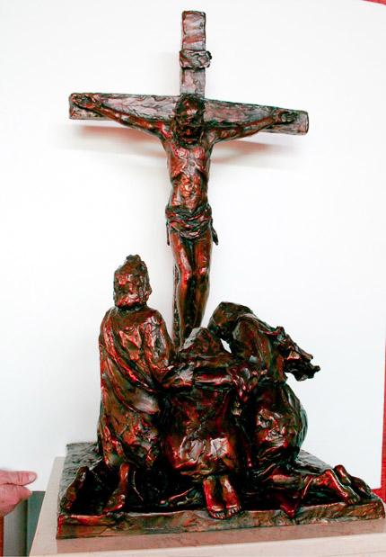 XII - Jesus Dies on the Cross - View 1