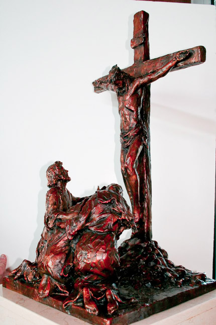 XII - Jesus Dies on the Cross - View 2
