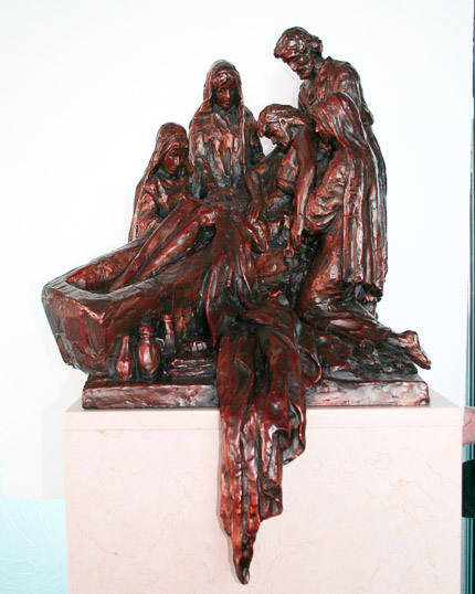 XIV - Jesus is Laid in the Tomb - View 1